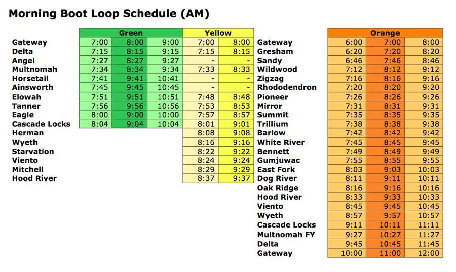 The Boot Loop: Bringing Transit to Mount Hood   WyEast Blog